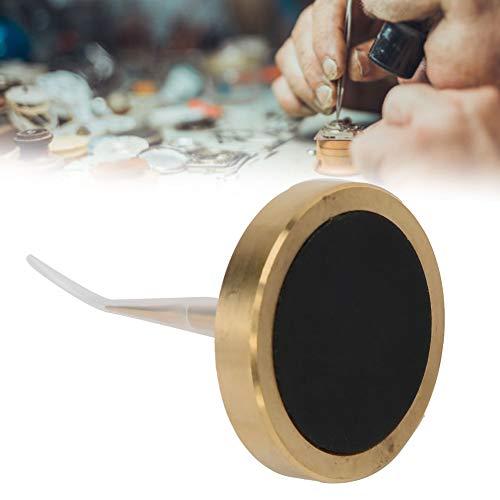 Soporte de balanzas de reloj, herramienta de balanzas de reloj de latón, accesorio de reparación de relojes para fabricantes de relojes y trabajadores de reparación de relojes
