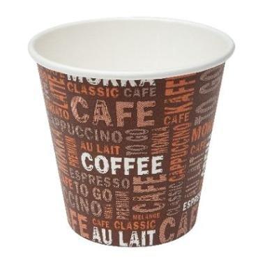 Gastro-Bedarf-Gutheil 50 Coffee to go Becher 100ml Pappbecher Espressobecher Mocca Tschai Tee