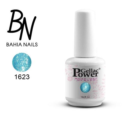 Bahia Nails - Power Gellac Tenue Parfaite? Vernis à Ongles UV Ou LED Semi Permanent 15 ml. 1623
