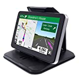 iSaddle Dashboard GPS Mount Holder - Universal Dashbaord Phone Tablet PC Navigation Holder for Garmin Nuvi Tomtom iPhone iPad Galaxy Yoga Android Fits 4.3'-9.6' GPS & Smartphone Friction Mount Holder