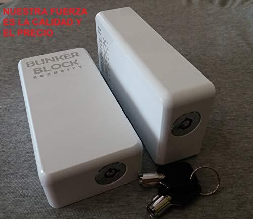2 Cerraduras candado cierre Puertas Furgonetas (BUNKER BLOCK Mod. Manual MN20) MADE IN SPAIN - LEER LA DESCRIPCION DEL PRODUCTO
