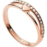 Fossil Damen Ring Hearts To...
