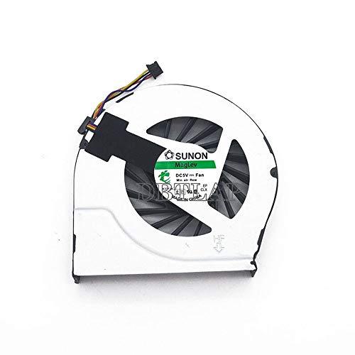 DBTLAP Ventilador de la CPU del Ordenador portátil para HP Pavilion G6 G7 G6-2241sg G6-2239eg G6-2031sg 683193-001 685477-001 CPU enfriamiento Ventilador