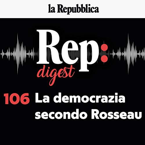 Couverture de La democrazia secondo Rousseau