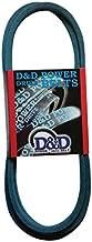 """D&D PowerDrive 382049 Grasshopper Kevlar Replacement Belt, 5LK, 1 -Band, 82"""" Length, Rubber"""