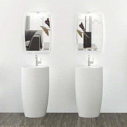 kzoao Colonne de sortie de bain à laver IV + Miroir