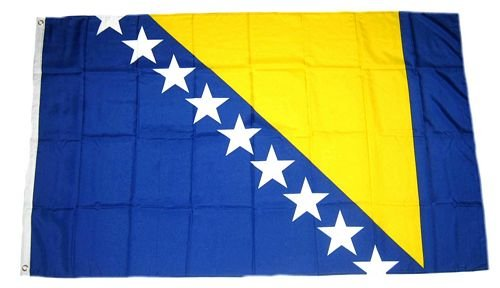 Fahne/Flagge Bosnien Herzegowina 150 x 250 cm