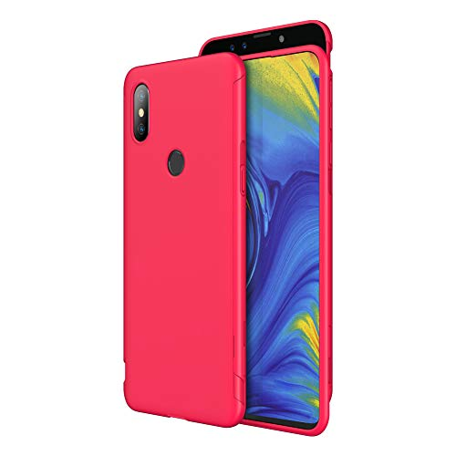 GKK Compatible with Xiaomi mi Mix 3 Case, Slim Hard PC Shockproof Protective Phone Case for Xiaomi mi Mix (Red)