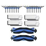Iycorish Rodillos laterales de pecho, filtro HEPA para aspiradora Conga Robot 1090