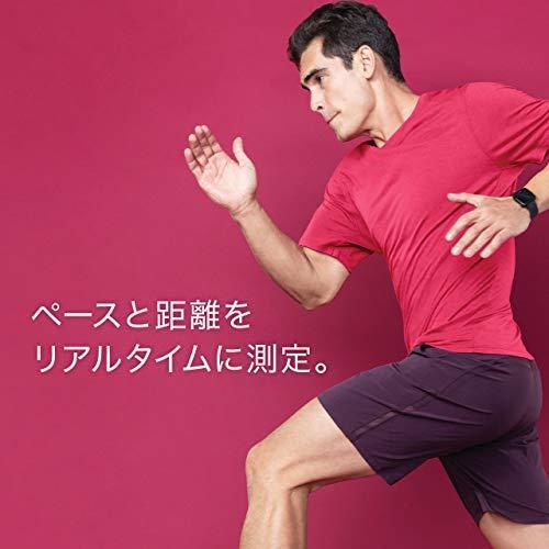 FitbitVersaLiteスマートウォッチCharcoal/SilverAluminumL/Sサイズ[日本正規品]FB415SRGY-FRCJK