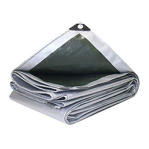 WEIWEI Lona impermeable de 5x8m lona de alto rendimiento cubierta en calidad premium hecha de 200 gramos metro cuadrado (color: A Tamaño: 3 & Times; 6 M)