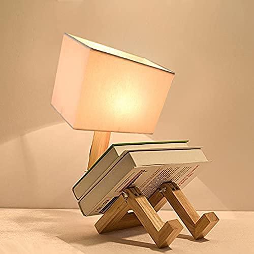 Stafeny Lámpara De Escritorio Lámpara De Mesa LED, Flexo LED Escritorio De Brillo Regulable, Luz Mesa Cuidado De Ojos para Cama, Oficina, Leer, Estudiar, Relajamiento