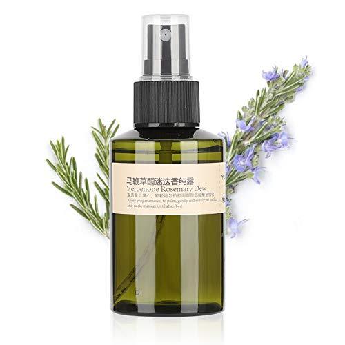 Spray hidratante, Toner facial hidratante de alecrim Verbenona, Remoção de cabeça negra Poros Remoção de líquido preto puro -100ml