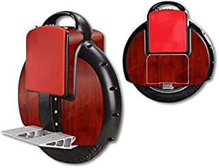 MightySkins Skin Compatible with Airwheel X3 Self Balancing one Wheel Electric Unicycle Scooter wrap Cover Sticker Cherry Wood