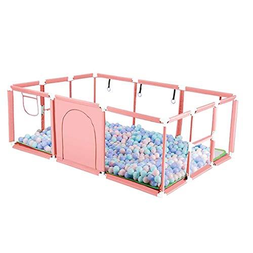 Parc bébé Baby Crawl Toddler Fence Clôture de Parc pour Enfants avec barrière de sécurité Détachable Safety Park Baby Barrière de sécurité pour Enfants Pliable pour bébés/Enfants en Bas âge Centre
