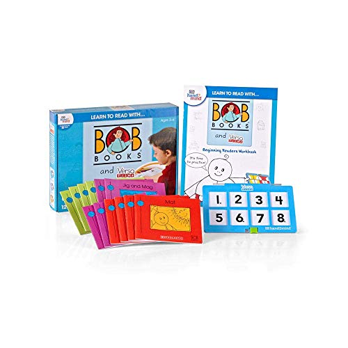 hand2mind Lesen lernen mit BOB Books & VersaTiles, Beginning Readers Set (Alter...