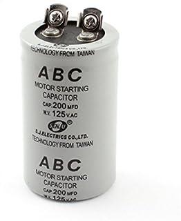 Condensadores Puesta en marcha del motor del condensador gris 150uF 250V AC para la lavadora Eléctrica industrial