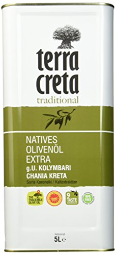 Terra Creta Extra Natives Olivenöl, 5 l