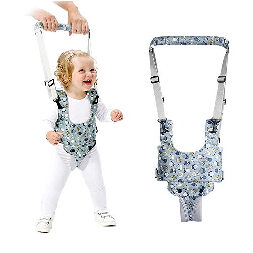 Adjustable Baby Walking Harness, UPWAY Toddler Walking Assistant, Hand Held Standing Up and Walking Learning Helper, Breathable Baby Walking Belt for 8-24 Months Infant Child Toddler Kids
