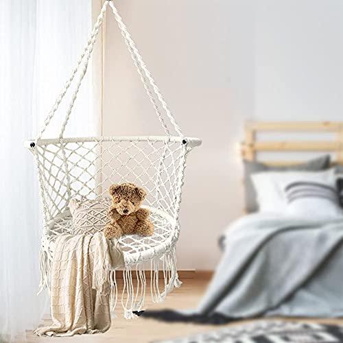 HTDHS Cómoda Silla Colgante Robusta para Exteriores, Interior, Patio, jardín, hogar, terraza, hasta 80 kg (Color : 0, Size : 0)