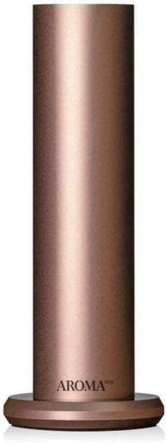 AromaTech AroMini BT Bluetooth Essential Oil Diffuser for Aromatherapy Oils, Nebulizing Diffusion System, Fragrance Diffuser, Cold-Air Diffusion Scent Machine for Spa, Home, Office (Rose Gold)