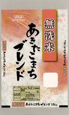 【精米】無洗米あきたこまちブレンド 10kg