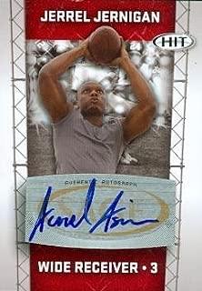 Autograph Warehouse 99830 Jerrel Jernigan Autographed Football Card Troy 2011 Sage Hit Rookie No. A3