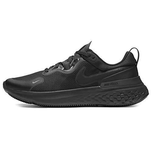 Nike React Miler, Zapatos para Correr para Hombre, Black/Black/Iron Grey/White, 40.5 EU