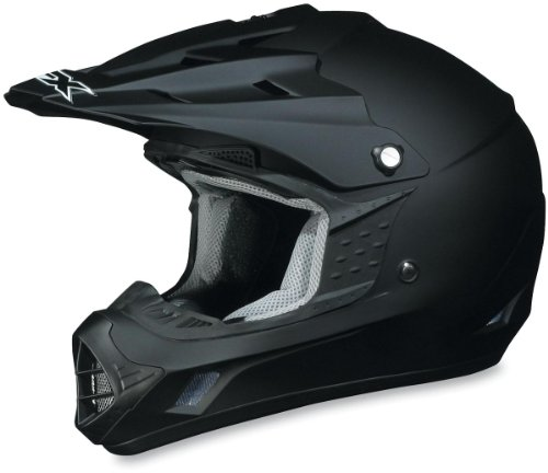 AFX FX-17 Solid Helmet , Size: XL, Primary Color: Black, Helmet Type: Offroad Helmets, Helmet Category: Offroad, Distinct Name: Flat Black, Gender: Mens/Unisex 01101754