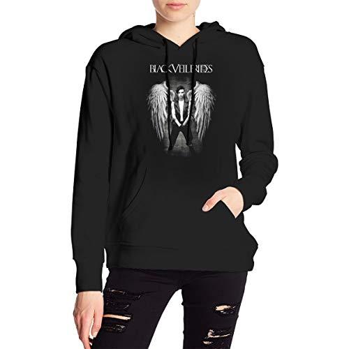 DesireJCuevas Black Veil Brides Women's Hoodies Sweater Fashion Long Sleeve Top Hooded Sweatshirts M Michigan
