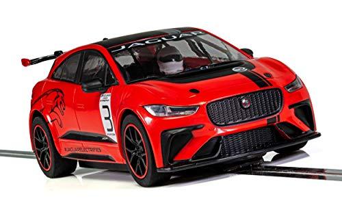 Scalextric Jaguar I-Pace Red #3 1:32 Slot Race Car C4042