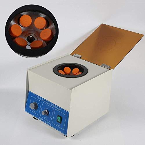 LianDu LD-3 Electric Lab Benchtop Centrifuge, Laboratory Practice Centrifuge Machine, Large Capacity 6x50ml, High Speed 4000RPM, with Timer 0-60min (US Stock)