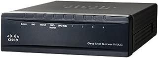 CISCO Dual Gigabit WAN VPN Router - RV042G-K9-NA (Renewed)