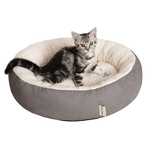 cat beds Tempcore Cat Bed for Indoor Cats, Machine Washable Cat Beds, 20 inch Pet Bed for Cats or Small Dogs,Anti-Slip & Water-Resistant Bottom