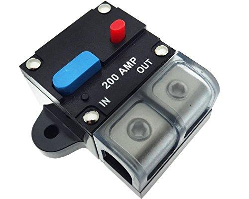 200 A Automatik Automatische Sicherung Halter Auto Boot Photovoltaik 12V 24V 48V