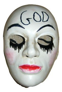 THE PURGE MOVIE - MASK - ANARCHY 2 - UNIVERSAL FRONT FACE MASK