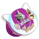 WHISKAS snack para gatos anti bola tarrina 60 gr