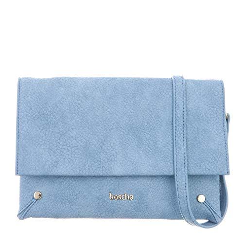 Boscha Handtasche Blue, Flap Bag, Damen, Crossover Bag