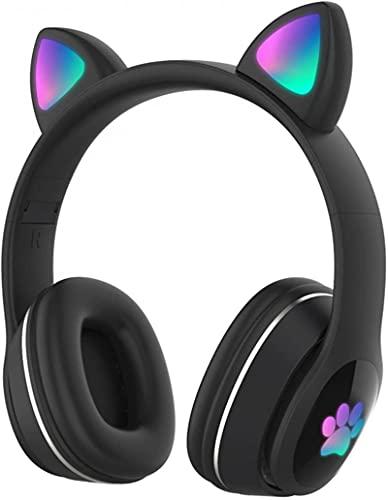 Auriculares Bluetooth de WHXL, Auriculares inalámbricos de micrófono Integrado estéreo, Auriculares de cancelación de Ruido con LED, etc.