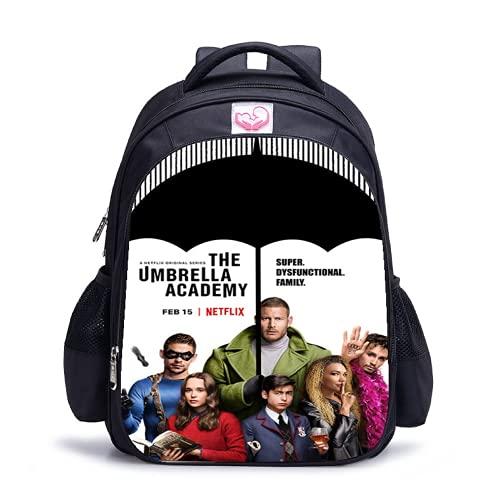 The Umbrella Academy Bags Kid The Umbrella Academy Zaini Scuola Borse Studente Lunch Bag, 6, L,