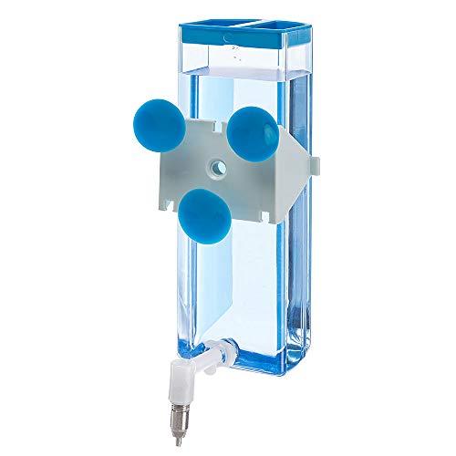 Ferplast 84676070 Nager-Trinkautomat SIPPY 8476 LARGE, Befestigung am Gitter oder an glatten Oberflächen, Inhalt: 600 ml - 6