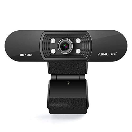YiiYYaa 1080P 30fps Camera Webcam USB 2.0 HD PC Web Cam w/Microphone for Desktop Laptop Computer