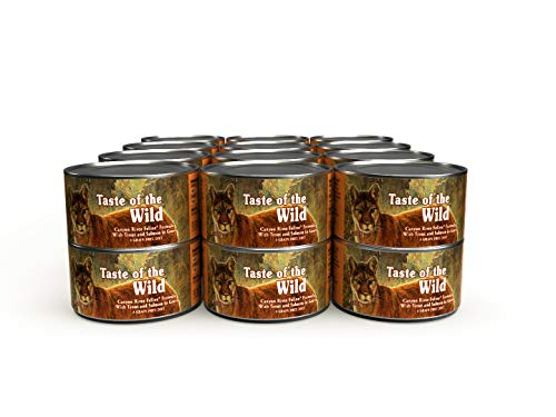 Taste of the Wild 418652 Grain Free Real Meat Recipe Premium Wet Canned Stew Cat Food (Case of 24), 3oz