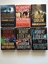 Robert Ludlum (Set of 6) Bourne Legacy; Bourne Dominion; Ambler Warning; Tristan Betrayal