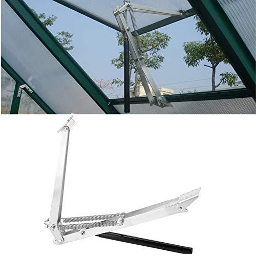 Automatischer Fensteröffner Fensterheber Temperaturgesteuert Fensteröffner Ersatzzylinder für Gewächshaus Gartenhäuser öffner Hubkraft 14 kg, Hubhöhe 40 cm