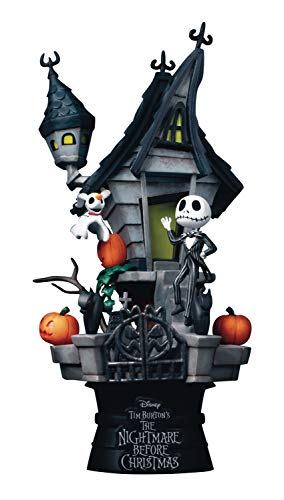 Beast Kingdom Toys Nightmare Before Christmas D-Stage PVC Diorama Jack's Haunted House 15 cm