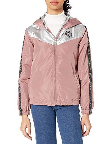 Madden Girl Women's Fashion Outerwear Jacket, Faux Fur Black, L