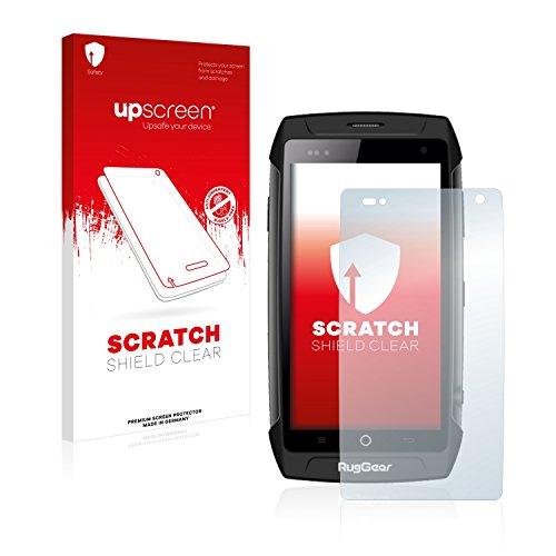 upscreen Schutzfolie kompatibel mit RugGear RG730 – Kristallklar, Kratzschutz, Anti-Fingerprint