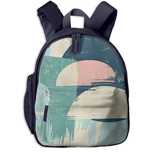 Kinderrucksack Kleinkind Jungen Mädchen Kindergartentasche Art Abstraction Grunge Backpack Schultasche Rucksack
