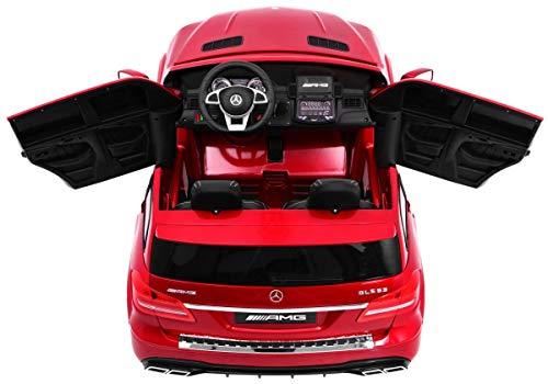 RC Auto kaufen Kinderauto Bild 2: Kinderauto Elektroauto Kinderfahrzeug Spielzeug Elektrofahrzeuge - Mercedes Benz GLS 63 AMG 4WD 2-Sitzer - Rot Lackiert*